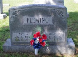 Mary M Fleming
