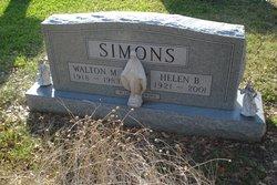 Helen B Simons