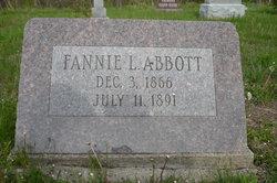 Frances Luella Fannie <i>Martz</i> Abbott
