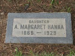 A. Margaret Hanna