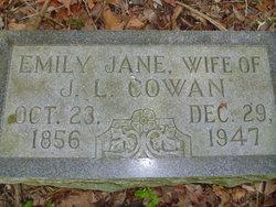 Emily Jane <i>Humphreys</i> Cowan