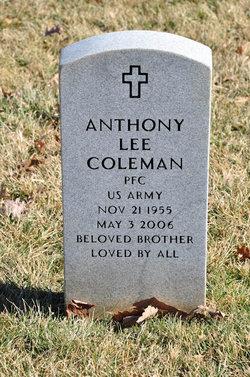 PFC Anthony Lee Coleman