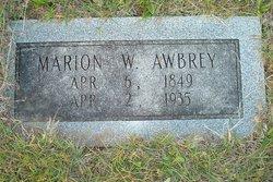 Marion W Awbrey