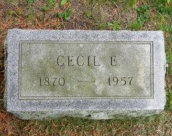 Cecil E Gerow