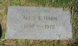 Alice E Hahn