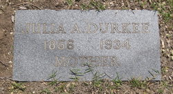 Julia Ann <i>Hall</i> Durkee