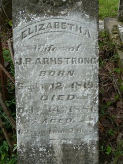 Elizabeth Ann <i>Myers</i> Baker-Armstrong