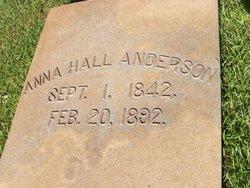 Anna <i>Hall</i> Anderson