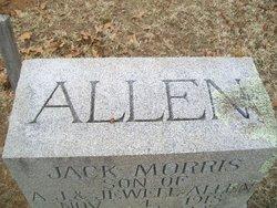 Jack Morris Allen