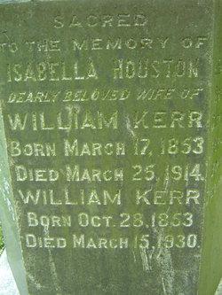 Isabella <i>Houston</i> Kerr