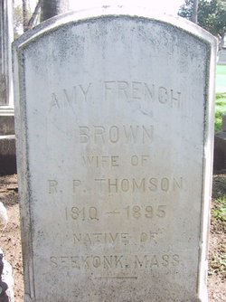 Amy French <i>Brown</i> Thomson