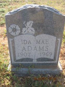 Ida Mae <i>Maxwell</i> Adams