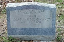 Lola B. <i>McKinney</i> Akridge