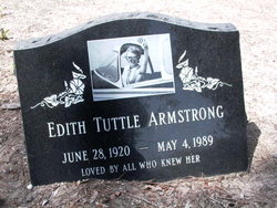 Edith Tuttle Armstrong