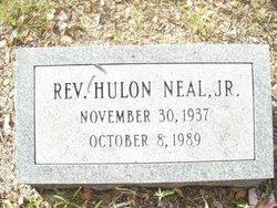 Rev Hulon Neal, Jr