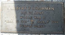 Albert F Grohman