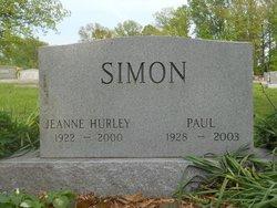 Jeanne C <i>Hurley</i> Simon
