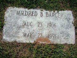 Mildred Edith <i>Bollinger</i> Barger