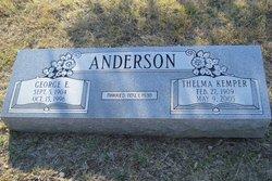 Thelma <i>Kemper</i> Anderson