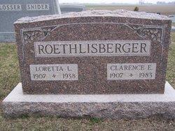 Clarence E. Roethlisberger