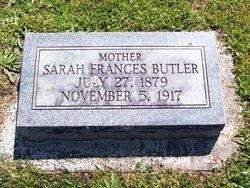 Sarah Frances <i>Hood</i> Butler