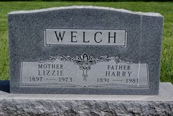Goldie Elizabeth Lizzie <i>Smith</i> Welch
