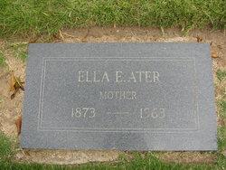 Ella Elizabeth <i>Millen</i> Ater