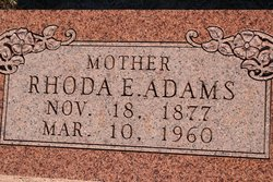 Rhoda E. Adams