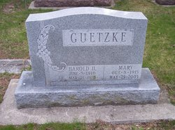 Mary <i>Toth</i> Guetzke