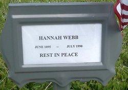 Hannah <i>Thomas</i> Cariller-Webb