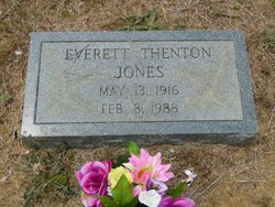 Everett Thenton Jones