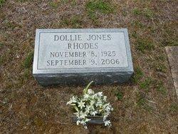 Dollie <i>Jones</i> Rhodes