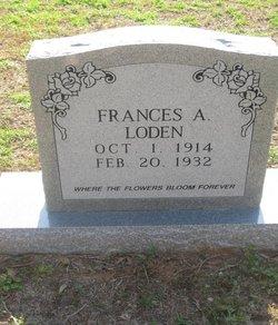 Frances A. Loden