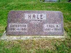 Ernestina <i>Nuebauer</i> Hale