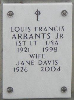 Jane <i>Davis</i> Arrants
