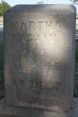 Martha <i>Brunt</i> McCain