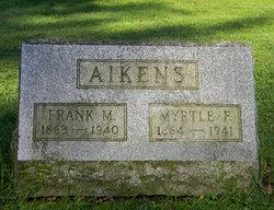 Myrtle F Fannie <i>Langworthy</i> Aikens