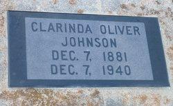 Clarinda <i>Oliver</i> Johnson