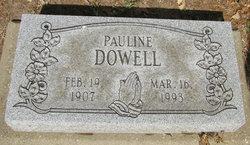 Pauline <i>Lummus</i> Dowell