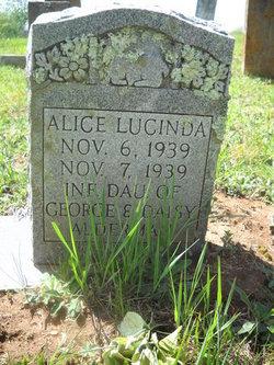 Alice Lucinda Alderman