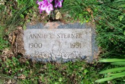 Annie E. <i>Henry</i> Sterner