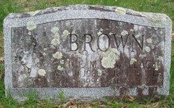 Alice M <i>Avery</i> Brown
