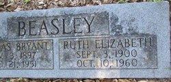 Mattie Ruth Elizabeth <i>Stringfellow</i> Beasley