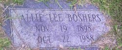 Allie Lee <i>Walk</i> Boshers