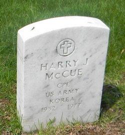 CPL Harry James McCue