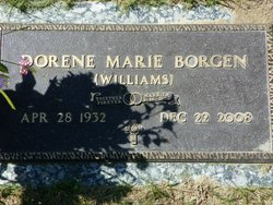 Dorene Marie <i>Williams</i> Borgen