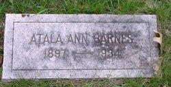 Atala Ann Barnes