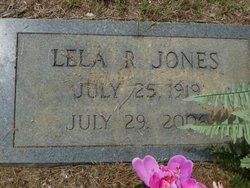 Lela R Jones