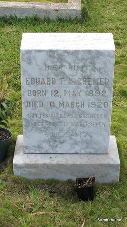 Eduard F.H. Cremer