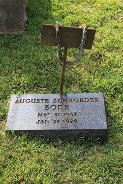 Auguste <i>Schroeder</i> Bode